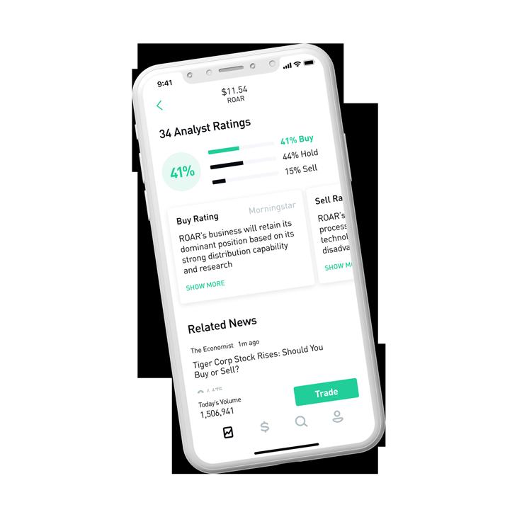 Robinhood – Commission Free Stock Trading App - Crypto, Options, ETFs