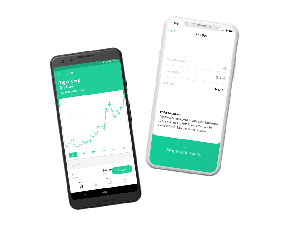 Robinhood – Commission Free Stock Trading App - Crypto