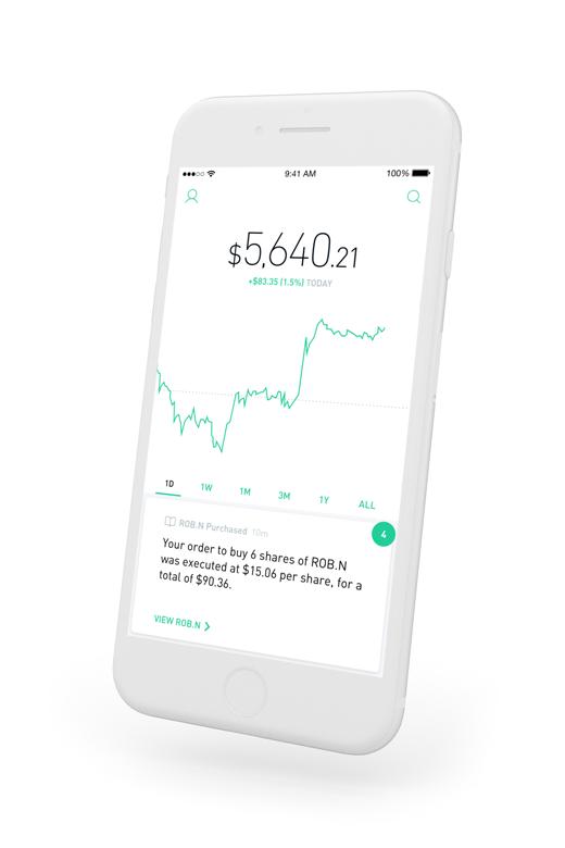 Robinhood - Commission Free Stock Trading App - Crypto, Options, ETFs